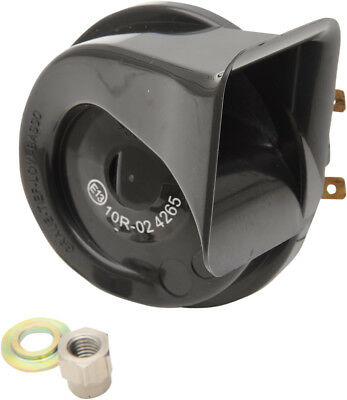 Drag Specialties 12V Horn Black Replaces #69060-90F