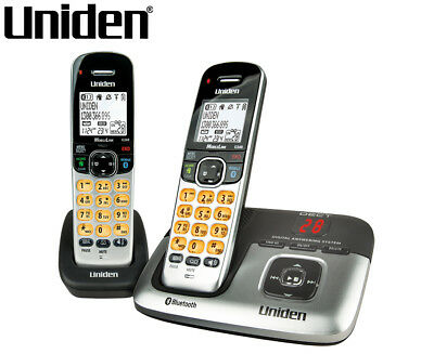 Uniden DECT 3236 + 1 Digital Phone System w/ Power Failure Backup - Silver