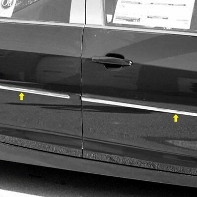 For Chevy Silverado 1500 09-13 SAA TH49181 I-Type Polished Body Side Moldings