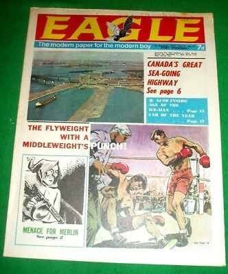 Eagle Comic   23/12/1967   Volume 18  #51   Dan Dare & Car Of The Year Cutaway