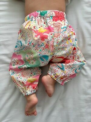 Little Annie Liberty Baby Trousers Space print Tana Lawn Cotton / boden