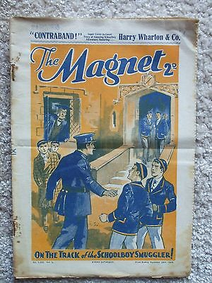 "The Magnet (Billy Bunter) - ""Contraband""  Single Issue 1936"