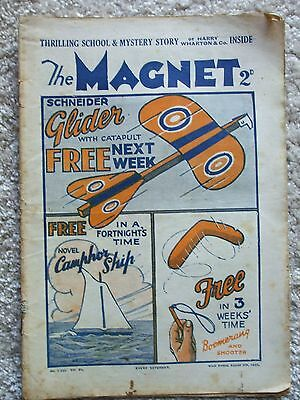 "The Magnet (Billy Bunter) - ""The Secret of the Oak"" Single Issue August 8th 1931"