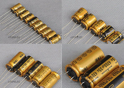 2pcs Nichicon Japan FW Series Hi-Fi Audio Electrolytic Capacitors