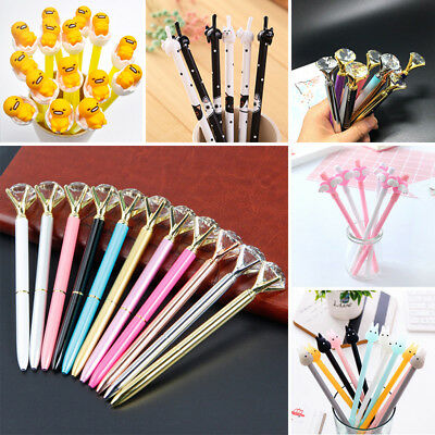27 Color Gel Pen Ballpoint Stationery Writing Sign Child School Office Supplies
