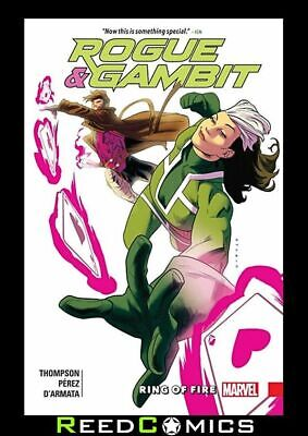 ROGUE AND GAMBIT RING OF FIRE GRAPHIC NOVEL New Paperback Collects 5 Part Series