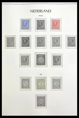 Lot 29039 Collection stamps of the Netherlands 1872-1975.