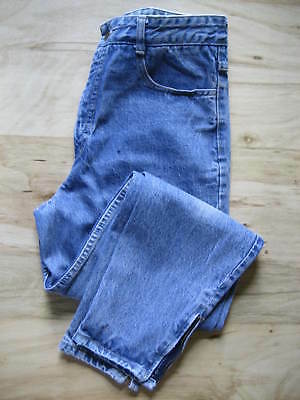 GUESS MARCIANO ACID WASHED MOM JEANS HIGH WAIST ANKLE ZIPPER VTG 1980s USA SZ 31