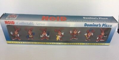 Domino's Pizza Noid Collectable Series Celebrating 50 Years 2010 Figures