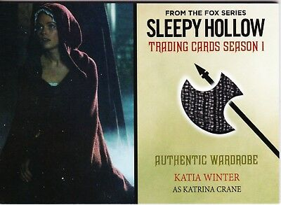 Sleepy Hollow season 1 Katrina (Katia Winter) costume card