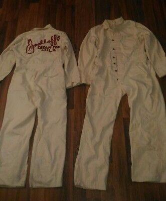 Brokhoff Dairy Coveralls, two pairs