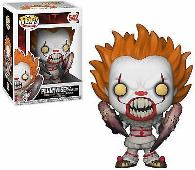 Funko PoP horror Movies IT 2017 Pennywise (Spider Legs) 4in. Figure #542