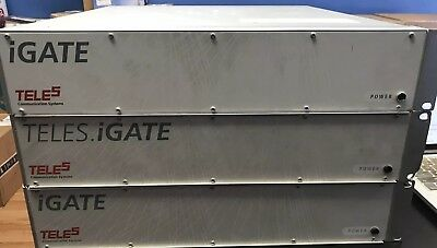 3 TELES IGATE 16 (PRI) Gateway. GSM AND CDMA