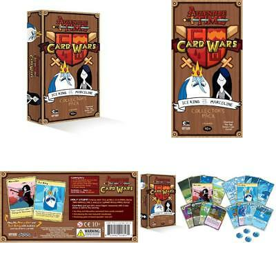 Adventure Time Card Wars Ice King Vs  Marceline Card Game