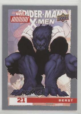 2016 Upper Deck Marvel Annual #21 Beast Non-Sports Card 2a1