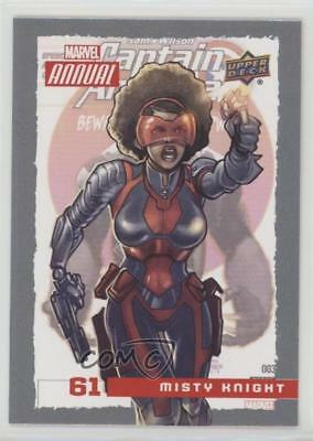 2016 Upper Deck Marvel Annual #61 Misty Knight Non-Sports Card 2a1