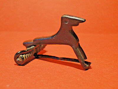 "Roman Bronze ""Zoomorphic"" FIBULA in the form of a Greyhound (ca. 2nd - 3rd Cent)"