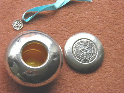 RUSSIAN SILVER Bowl or Box & Cover - pre Revolution PLUS Pendant