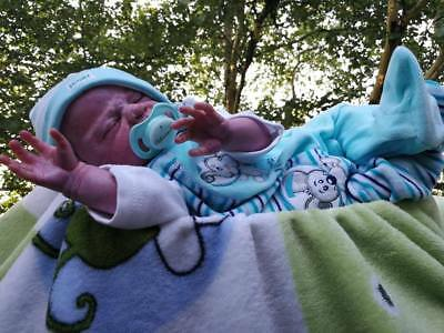 Zwilling Nr. 2 Reborn Baby LEO by Ulrike Gall (a limited edition 107 of 1000)