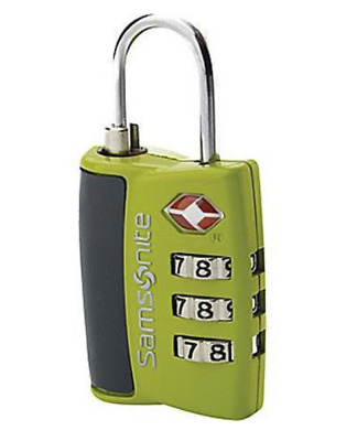 Samsonite 3 Combination TSA ZincAlloy Travel Luggage Locks with Indicator