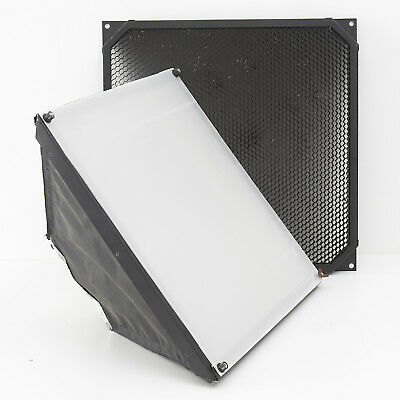 BOWENS 50cm X 50cm SOFTBOX WITH HONEYCOMB GRID TO L-FIT  BOWENS ONLY