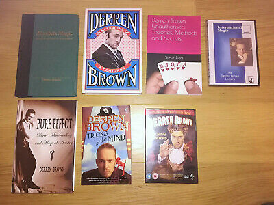 Derren Brown Pure Effect (Hand Signed) & Absolute Magic - Mentalism Book Combo!