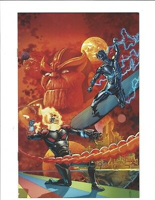 Thanos #17 Exclusive JG Jones Virgin Variant Cover Cosmic Ghost Rider NEAR MINT