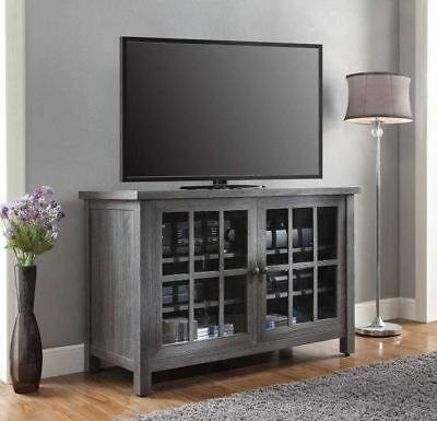 Tv Stand Console Table Storage Cabinet Media Rustic Entertainment