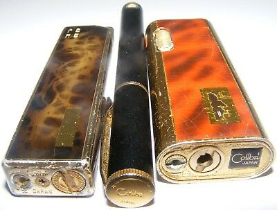 Lighters old colibri Table lighters