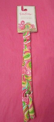 Lilly Pulitzer Sunglass Strap Croakie In All Nighter  Flamingo New With Tags