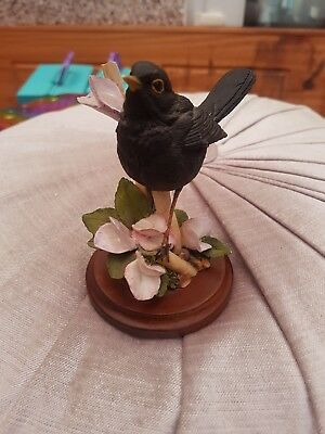 Country artists for the discerning Blackbird With Sweetpeas