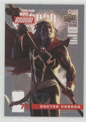 2016 Upper Deck Marvel Annual #75 Doctor Voodoo Non-Sports Card 2a1