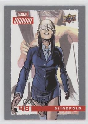 2016 Upper Deck Marvel Annual #48 Blindfold Non-Sports Card 2a1