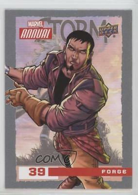2016 Upper Deck Marvel Annual #39 Forge Non-Sports Card 2a1