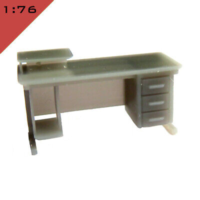 7mm InteriorFurniture Scene O guge 1x OFFICE FURNITURE SMALL SET 1 1:43 scale
