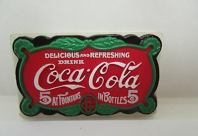 Coca Cola Refrigerator Magnet 5c at Fountains 5c in Bottles