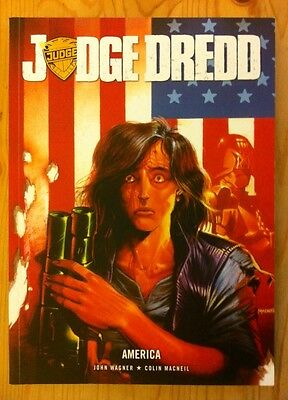 Judge Dredd America 2000ad Out Of Print First Edition New John Wagner