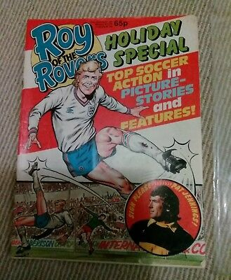 Vintage Roy Of The Rovers Holiday Special - Original Poster Inside 1986