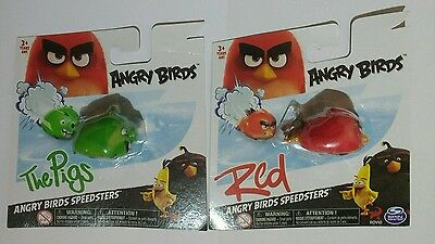 Angry Birds Speedsters - Red Bird & The Pigs - Brand New