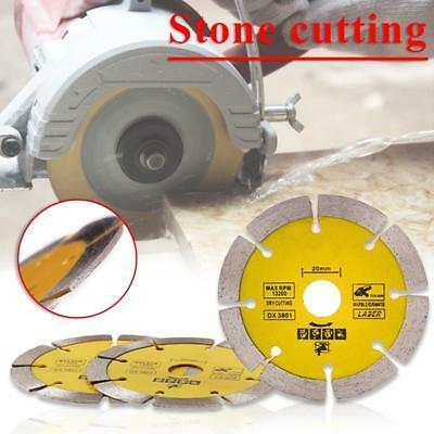 """114mm 4.5"""" Angle Grinder Dry Diamond Cutting Disc Blade Grinding Stone Marble UK"""