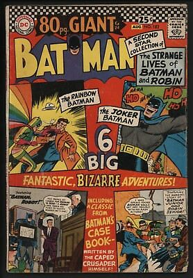 Batman #182 Jul 1966 Classic Stories Great Value Cents Copy Off White/white  Pgs
