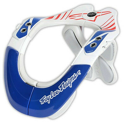 Alpinestars Troy Lee Designs BNS Pro Brace Motocross Dirtbike - Blue/Red/White