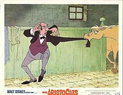 The Aristocats R1970 11x14 Lobby Card #nn