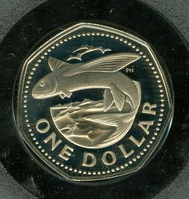 1974 Barbados Dollar Certified Finest Top Grade Proof Ultracam A $20 Coin