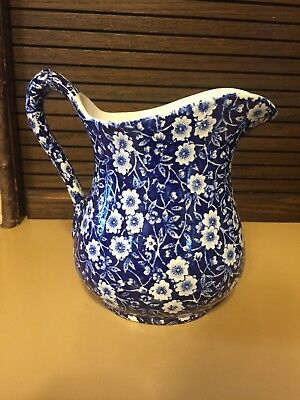 "Blue Calico ""5-3/4"" pitcher"