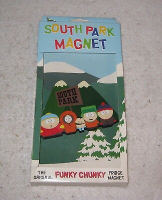 "South Park Magnet The Original Funky Chunky Fridge Magnet 4.5"" 1998"