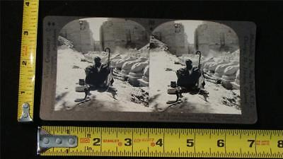 Keystone Stereoview - A Snake Charmer at Ave of Sphinxes,Thebes, Egypt, c.1910's