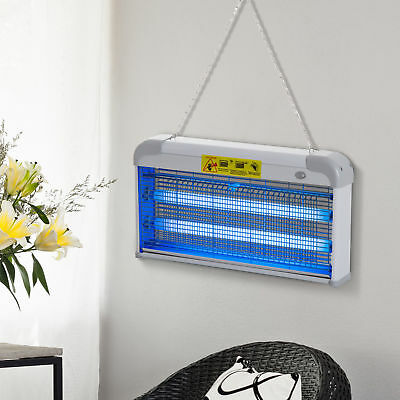 Outsunny 30W Mosquito Insect Killer Pest Bug Trap Lamp Electric Fly Zapper UV