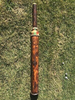 HUGE LOUD!! hand-crafted DIDGERIDOO didjeridoo with beeswax mouthpiece 55""
