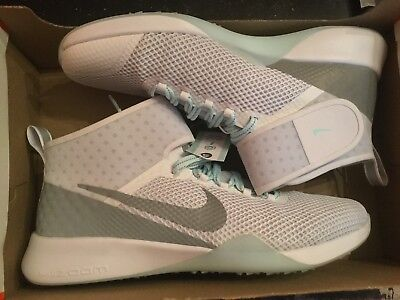 New Nike Womens Air Zoom Strong 2 Reflect trainer shoes 922879-100 Sz 8  white 84cd4bf45